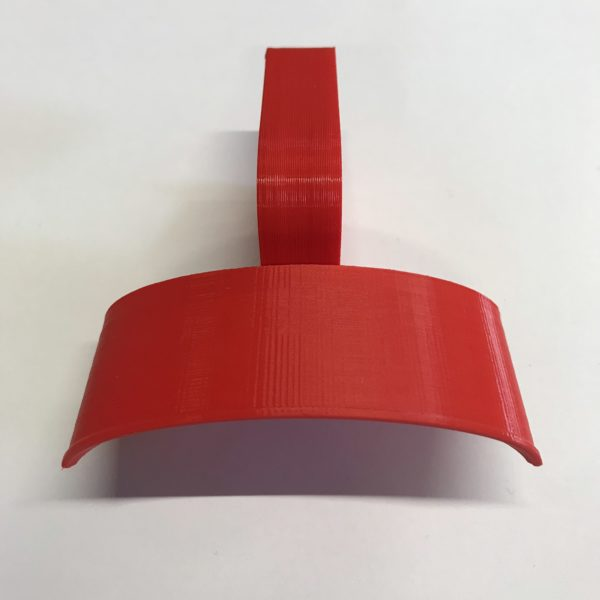 Example of HPS-SC in Hot Red colour